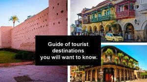 Guide of tourist